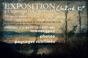 Exposition Chloe K chez Raphaël