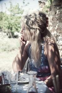 chloeka -   Cathy à la lavande - Mérindol juillet 2014