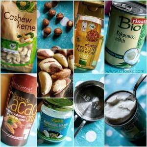 Ingrédients pour la mousse au chocolat.