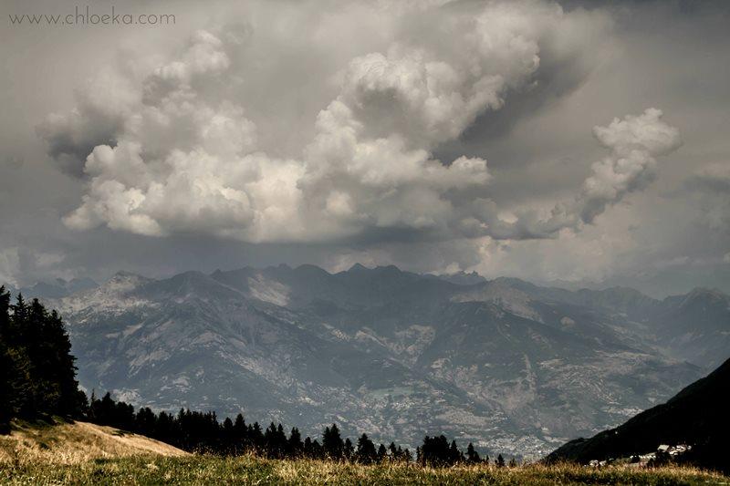 chloeka - Italie Val d'Aoste nuages Aout 2015-2