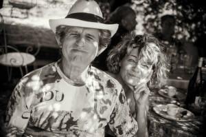 Gilles et Michelle au soleil du midi.