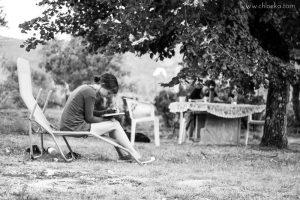 chloeka-- Montguers Drôme - 7 aout 2016- dans le jardin du gîte (1)