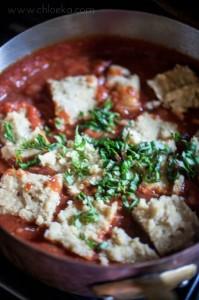 chloeka- Plutas vegan au curry et leur sauce tomate maison