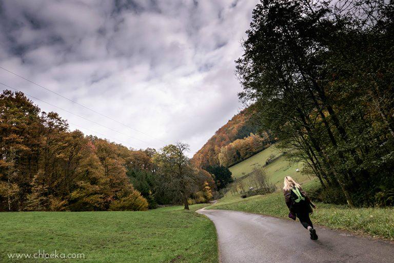 chloeka- Rando à Riersbach avec Malili- octobre 2015-7