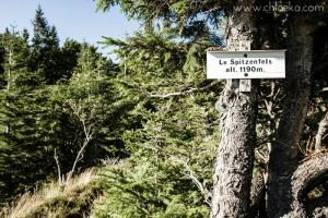 chloeka- Randonnée Gazon de Faing - Aout 2015 -panneau