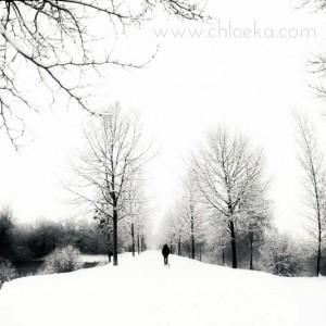 Eux & la neige.