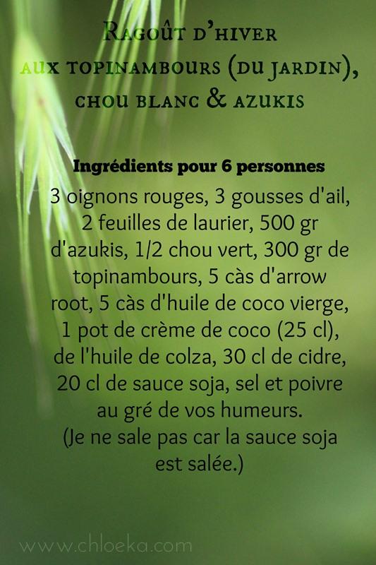 chloeka- ingrédients ragoût d'hiver