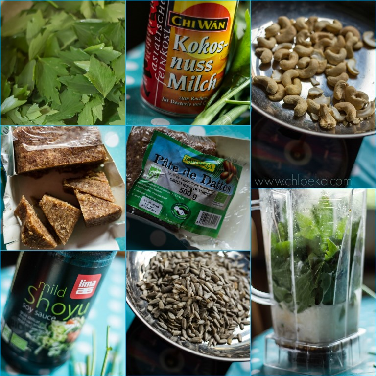 chloeka- ingrédients tartinade à la livèche mai 2015