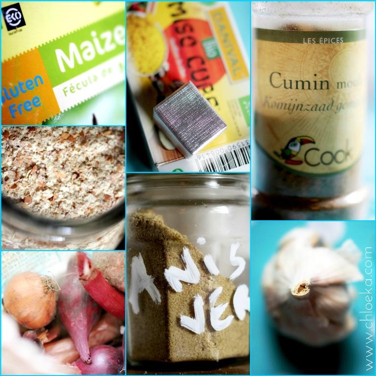 chloeka- sauve végétale roux blond ingrédients