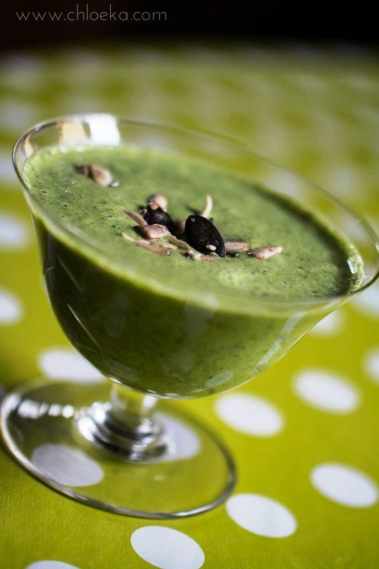 chloeka- soupe crue au chou kale- fév 2016-2