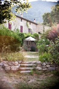 La maison dans les vignes.