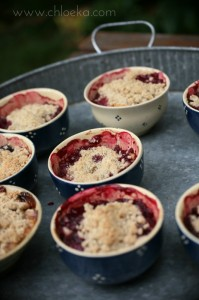 crumble pommes bananes fruits rouges (12)